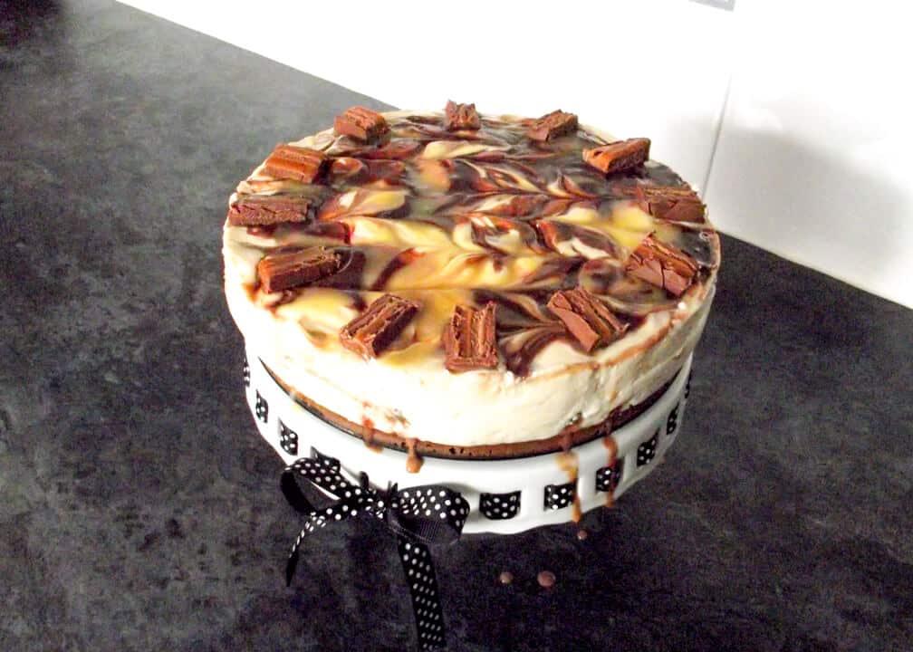 Mars Bar Cheesecake | No Bake | Candy Bar | Chocolate