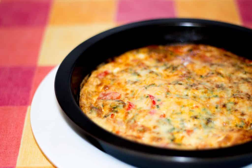 Fridge Clearing Frittata | Egg | Omelette | Quick | Easy | Lunch
