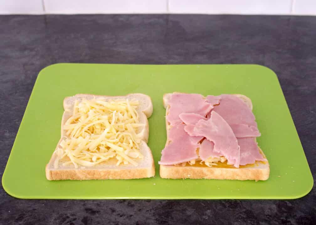 Simple & Delicious Croque Monsieur | Ham | Cheese | Breakfast | Brunch