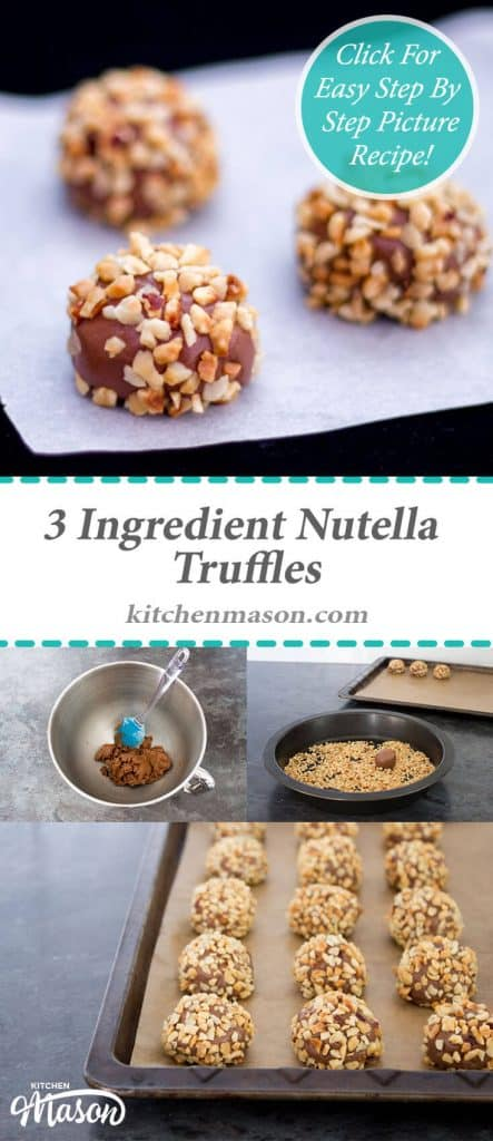 Nutella Truffles | Gift | 3 Ingredient | Christmas