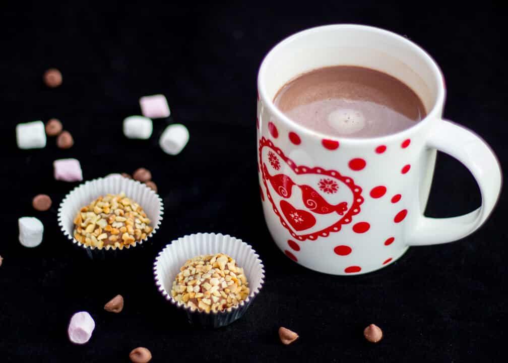 Nutella Truffles Nutella Hot Chocolate | Gift | 3 Ingredient | 4 Ingredient