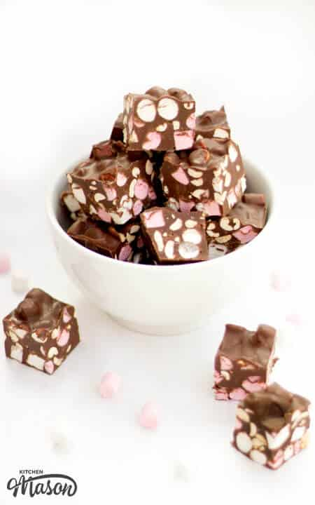 Rocky Road Fudge Recipes | Easy Fudge Recipes | Chocolate Fudge Recipes