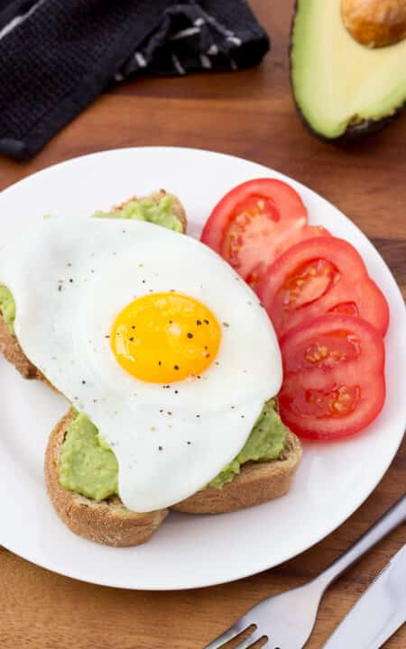 Avocado & Egg on Toast   Healthy   Breakfast   Lunch   Quick