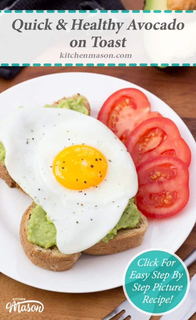 Avocado & Egg on Toast | Healthy | Breakfast | Lunch | Quick