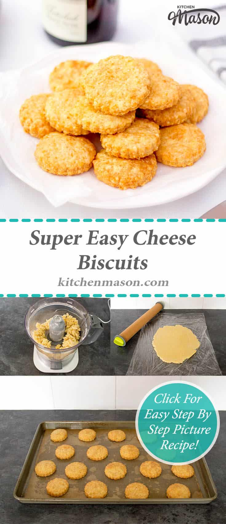 Cheese Biscuits | Easy | Christmas | New Year | Party Food