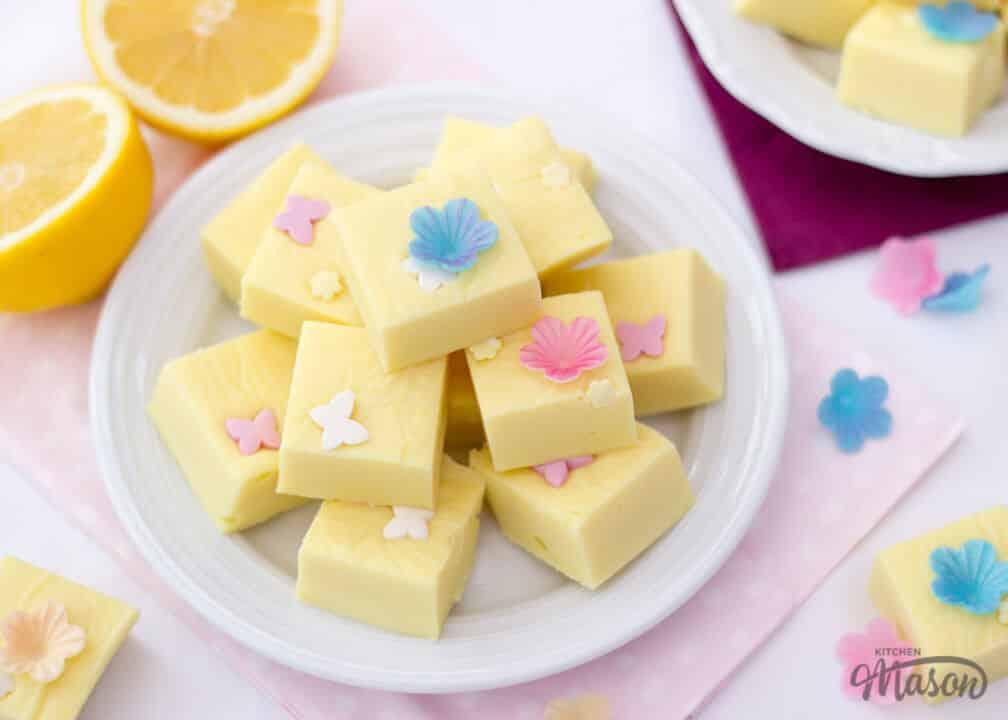 Lemon Fudge   Microwave   Mothers Day   Easy   Quick   Best