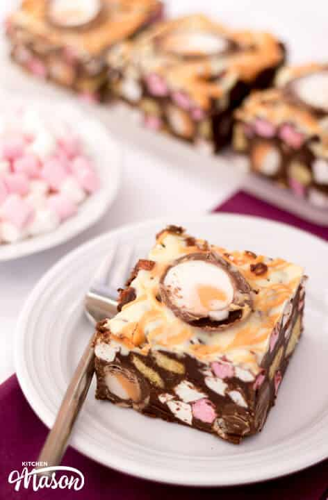 Creme Egg Rocky Road | Easter | No Bake | Chocolate | Cadburys