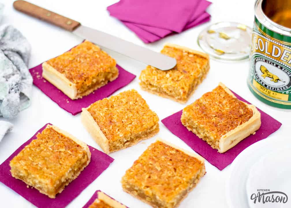 how to make treacle tart with cornflakes