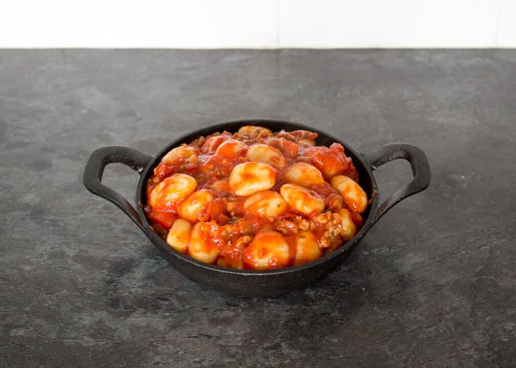 4 Ingredient Gnocchi & Sausage Melt