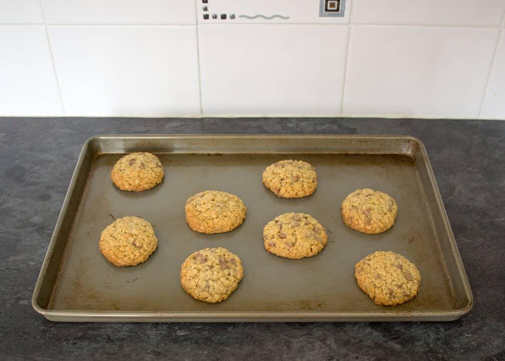 Choc Chip Oat Cookies