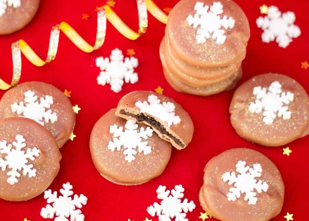 Oreo Thin Mints   3 Ingredient   Christmas   Homemade   Gift   Chocolate