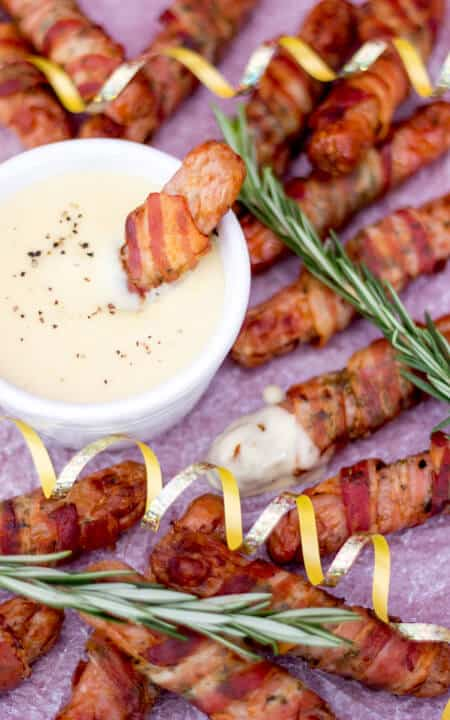 Pigs In Blankets | Best Ever | Christmas | Cheese Dip | Sauce