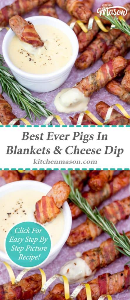 Pigs In Blankets   Best Ever   Christmas   Cheese Dip   Sauce