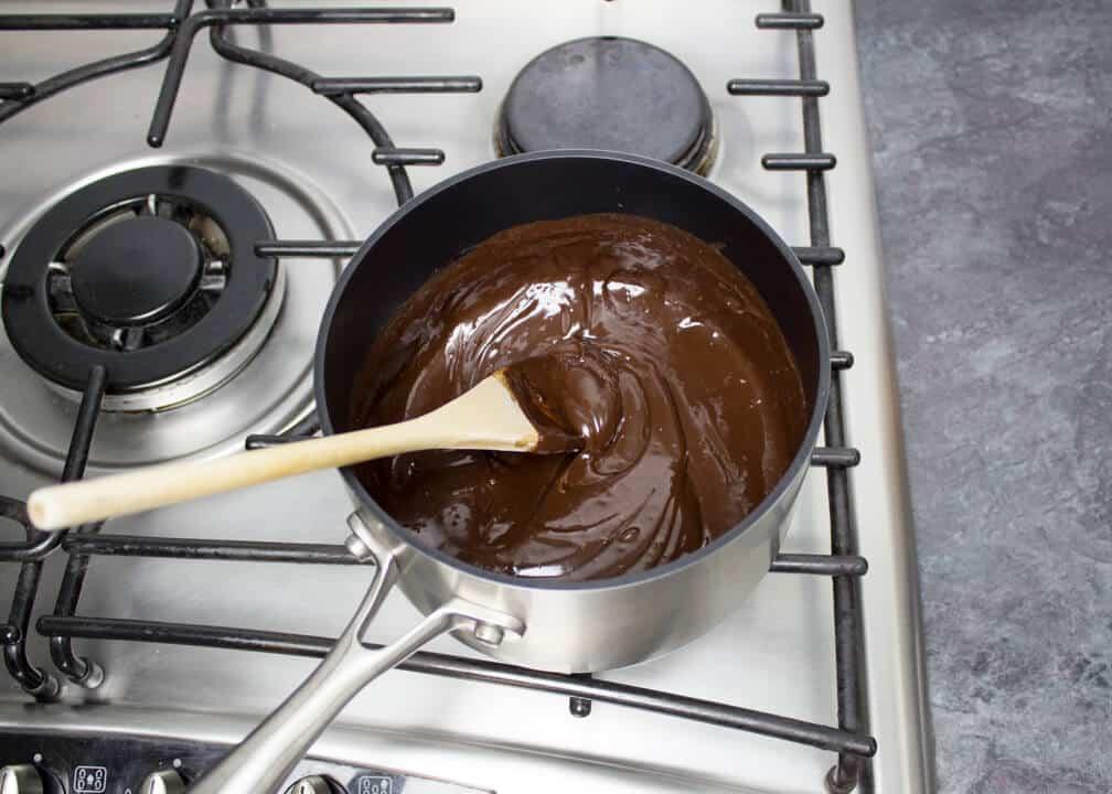 Chocolate Fudge Sauce   Best Ever   Hot Fudge Sauce   Step by Step