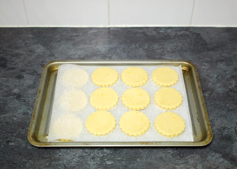 Lemon Cookies | 4 Ingredient | Easy | White Chocolate | Simple