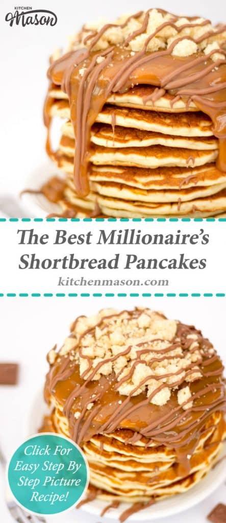 Millionaire's Shortbread Pancakes | The Best | Pancake Day | Caramel