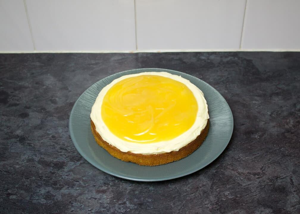 Easy Lemon Cake | Best Ever | Buttercream Frosting | Lemon Curd