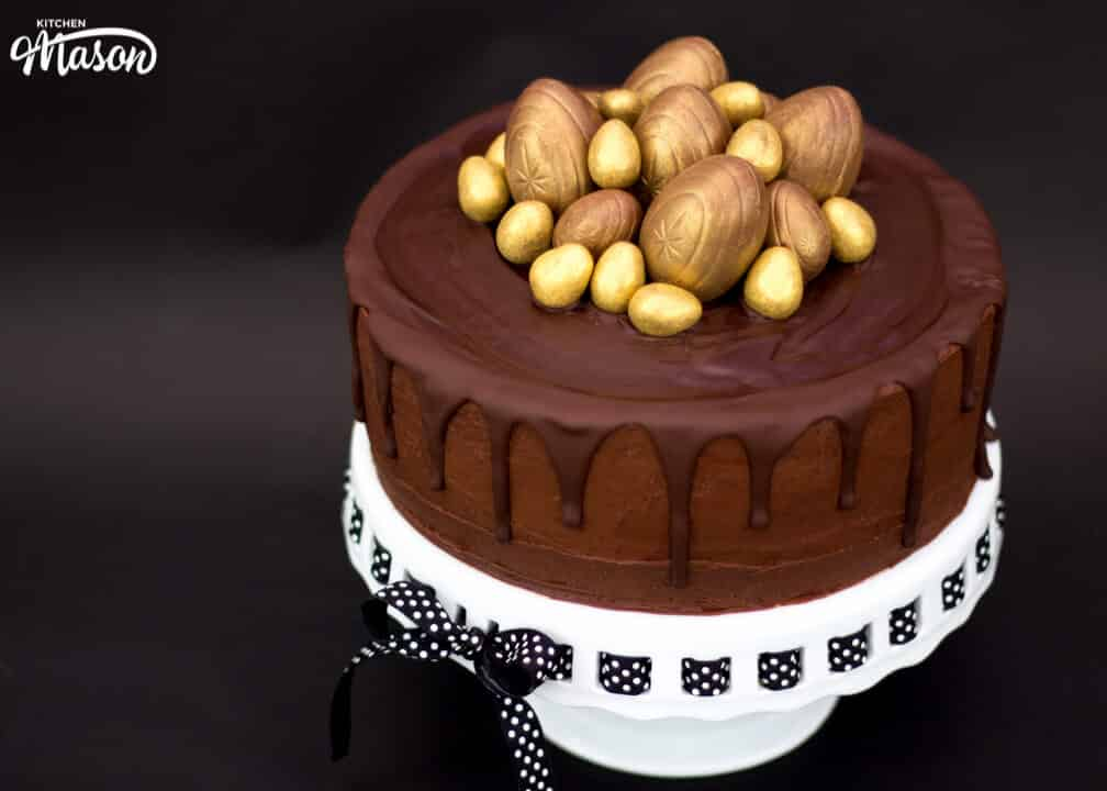 Golden Egg Drip Cake | Easter | Chocolate Cake | Creme Egg | Best