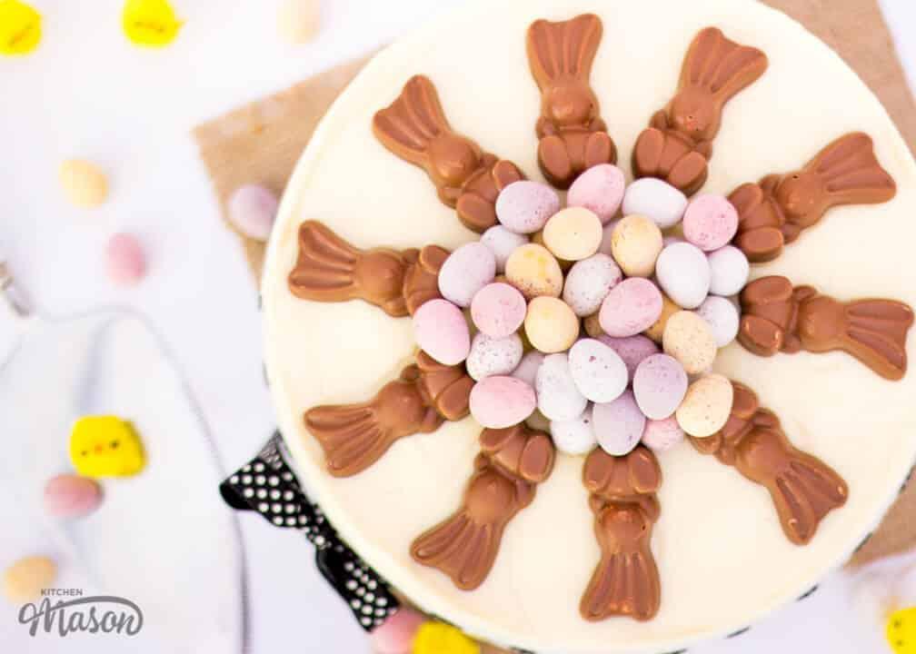 Chocolate Easter Cheesecake | No Bake | Mini Egg | White Chocolate