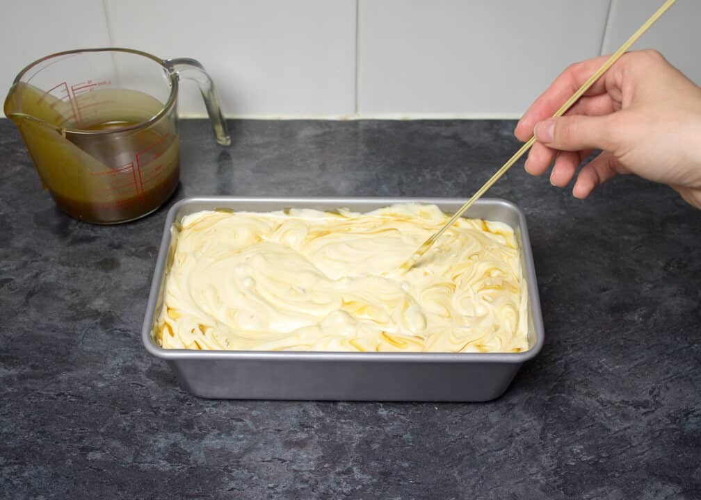 Salted Caramel Ice Cream   No Churn   Easy Ice Cream   Dessert