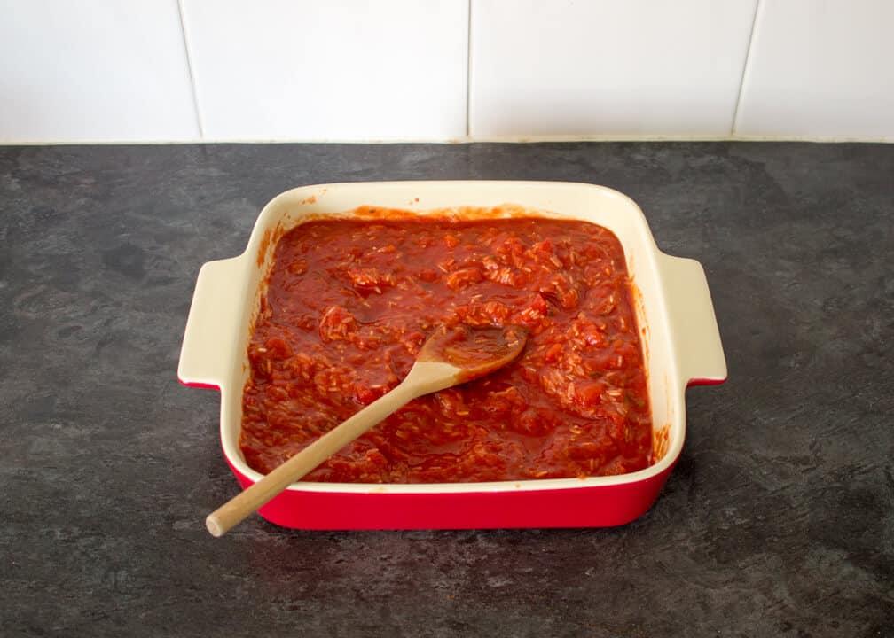Easy One Pot Recipes | Easy Rice Recipes | Meatball & Rice Bake