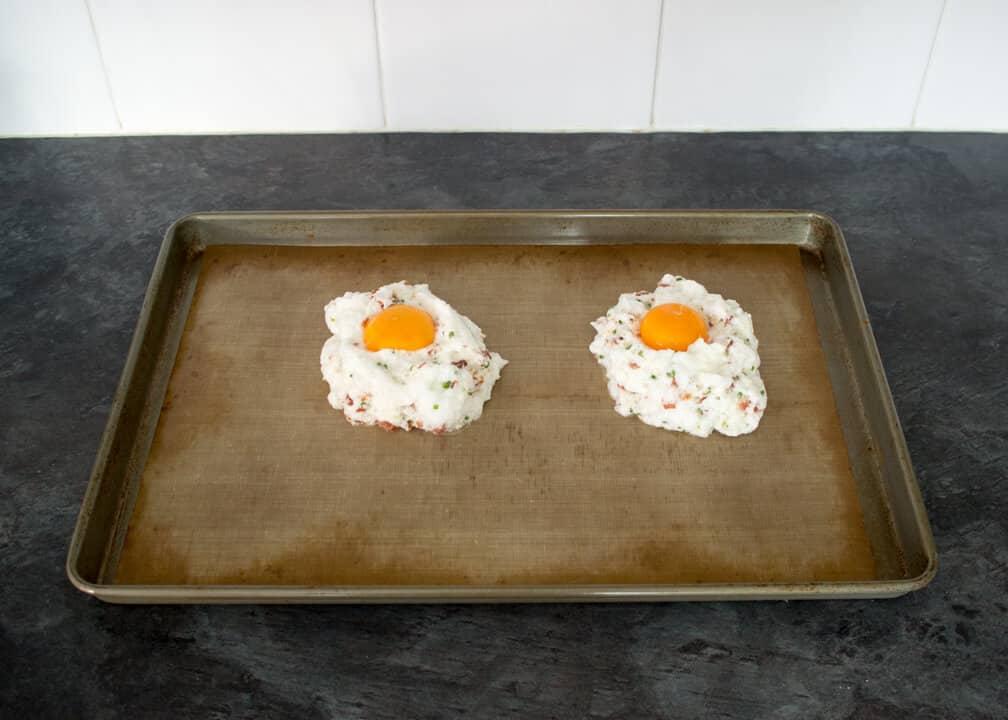 Easy Breakfast Recipes | Eggs In Clouds Recipe | Bacon Recipes
