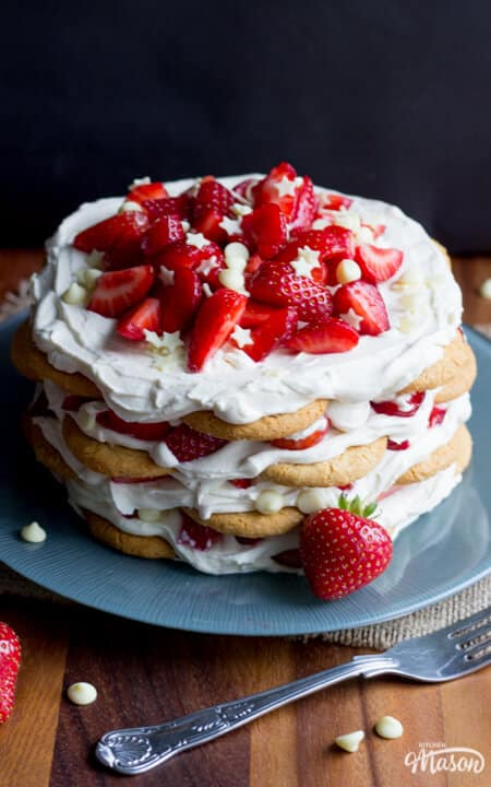 Easy Dessert Recipes | Strawberry Recipes | Easy Icebox Cake Recipes