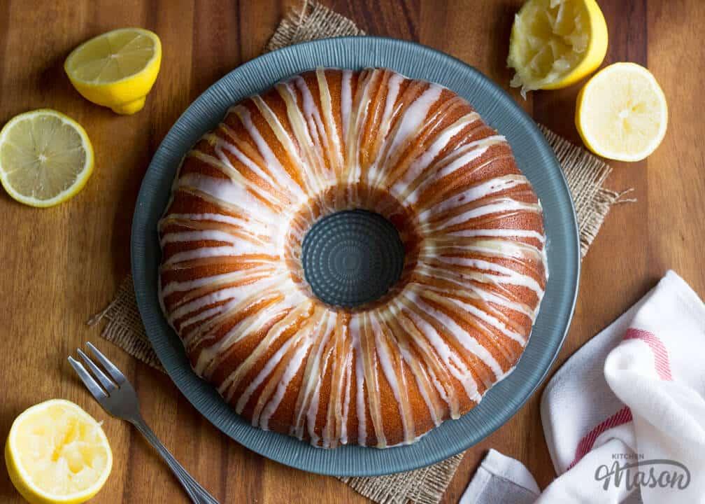 Easy Lemon Bundt Cake Recipe | Easy Bundt Cake Recipes | Easy Cake Recipes