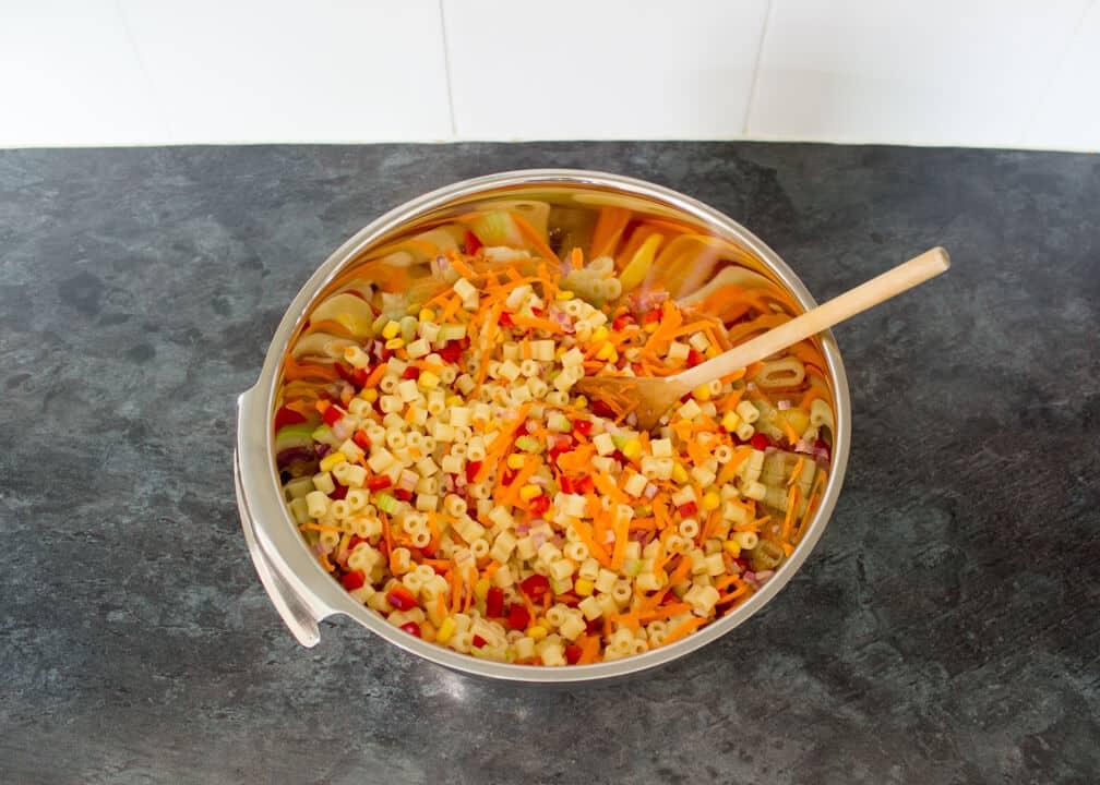 Easy Pasta Salad Recipes | Easy Picnic Recipes | Healthy Pasta Recipes